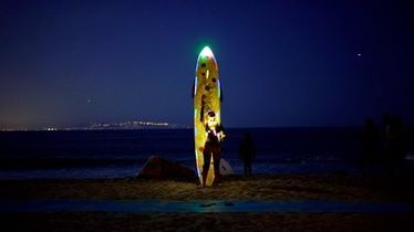 Kassia Meador Just Night Surfed the Brightest Supermoon in 69 Years - The Inertia