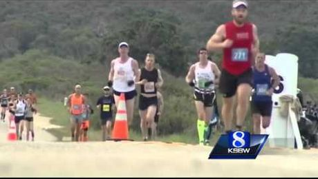 Beefed up security for this weekend's Big Sur International Marathon