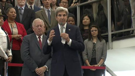 Secretary Kerry Gives Farewell Remarks to State Department Employees