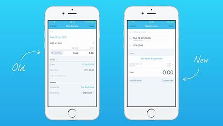 Xero for iOS - Invoicing Update
