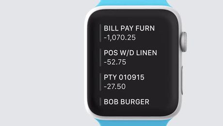 Xero on Apple Watch