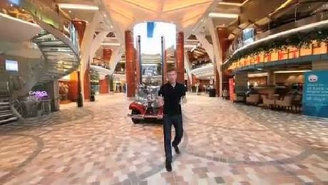 Join Mark Murphy and walk around Royal Caribbean's Allure of The Seas cruise ship
