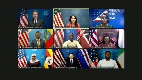 Secretary Blinken's Virtual Engagement with Yali Members and Alumni