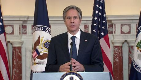 Secretary Blinken's remarks on the COVID-19 response.