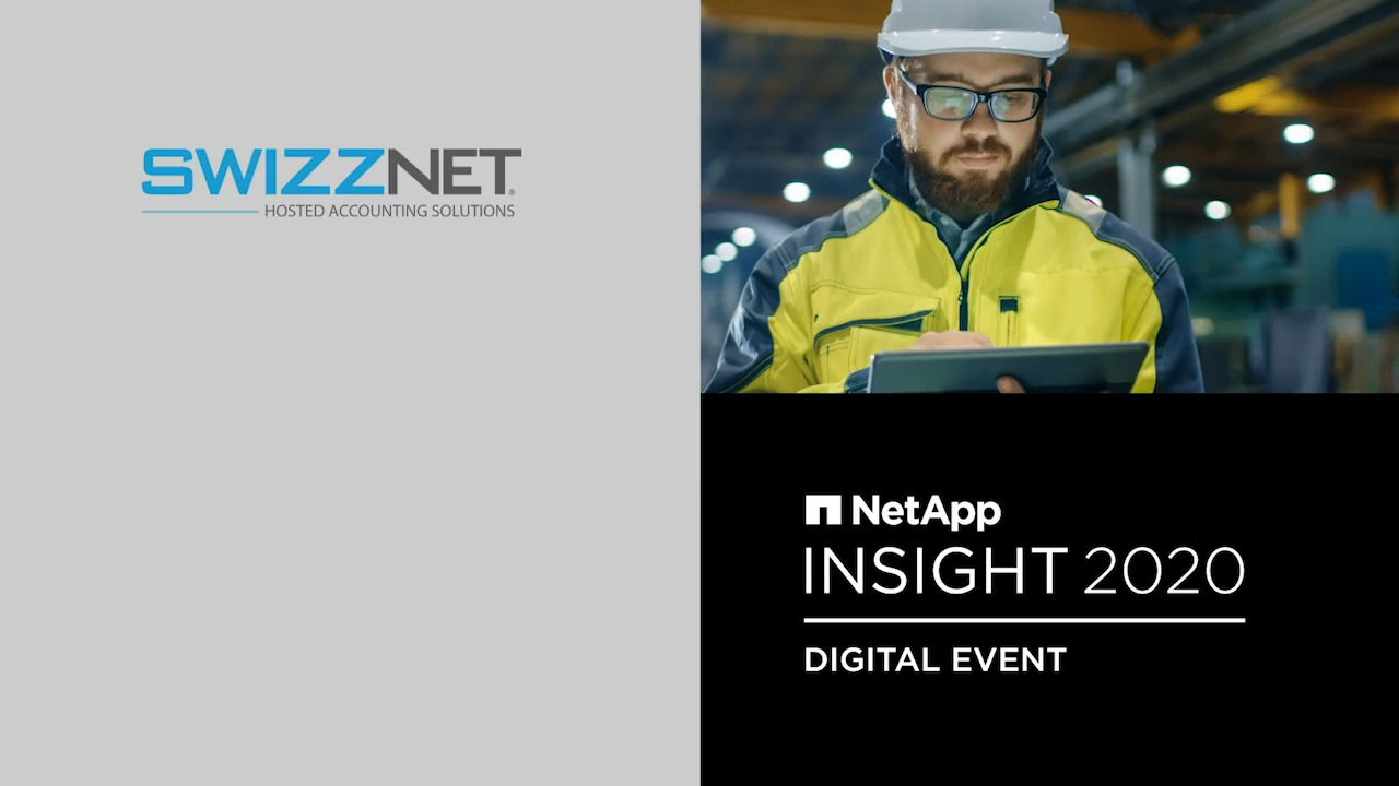 Swizznet - NetApp INSIGHT 2020 Customer Chronicle
