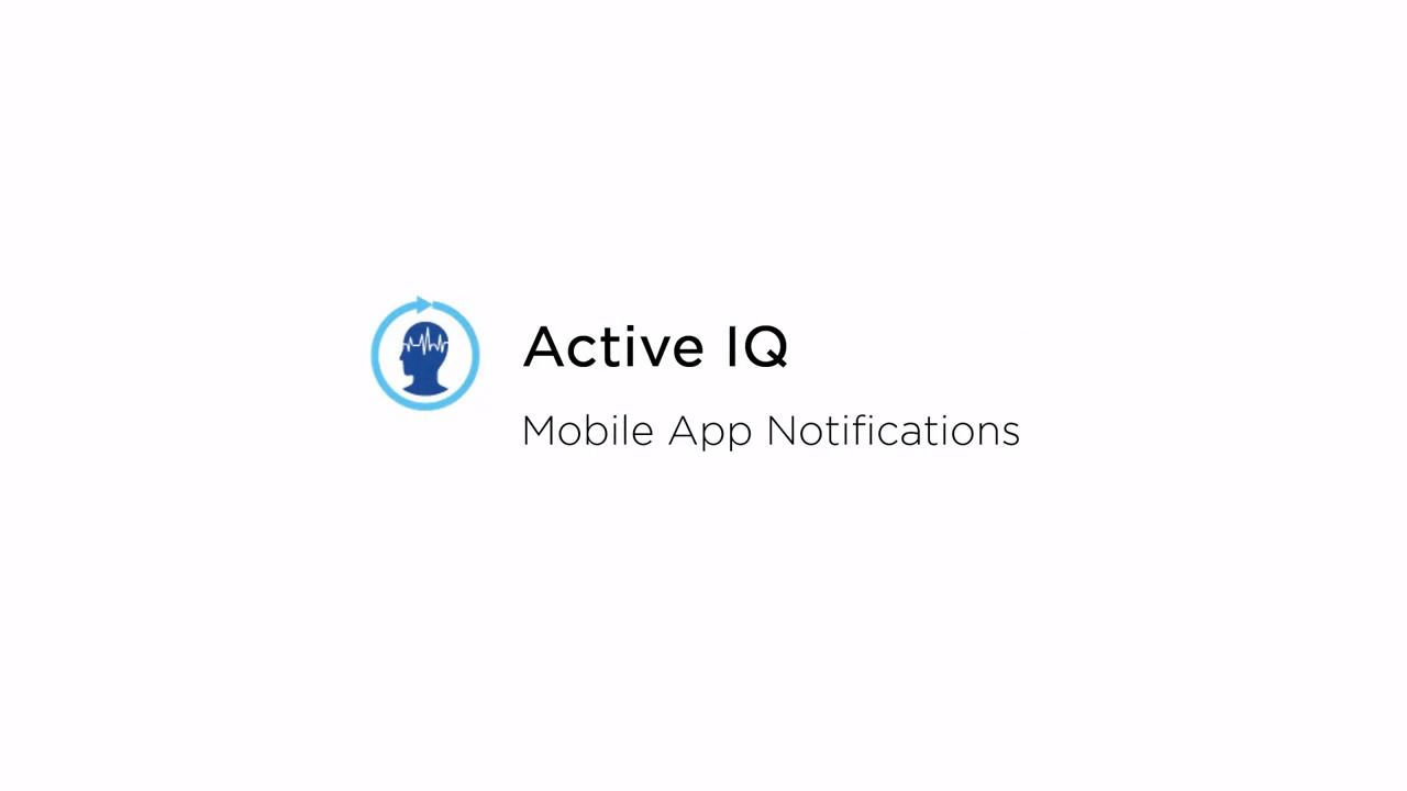 Notifications in the NetApp Active IQ Mobile App