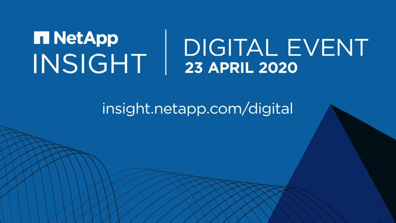 NetApp INSIGHT Digital Event