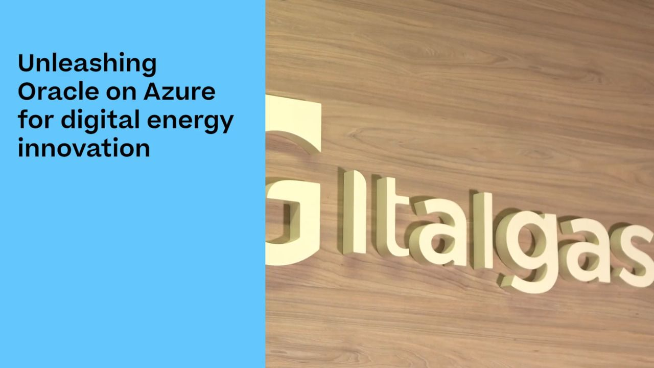 Italgas Energizes a Cloud Migration with Azure NetApp Files
