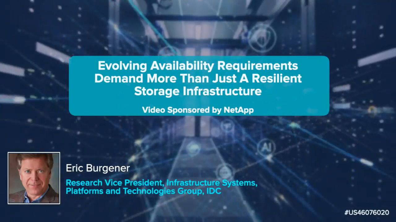 Evolving Availability Requirements for Enterprise Storage