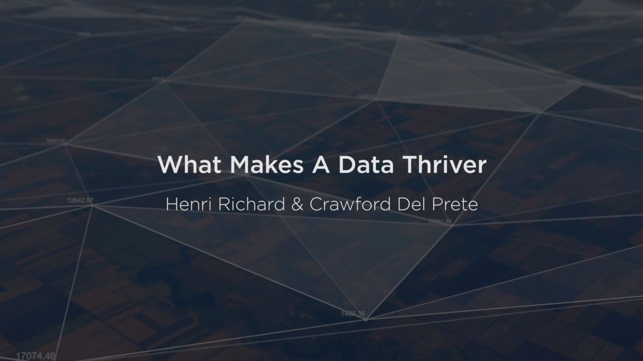 What Makes a Data Thriver?