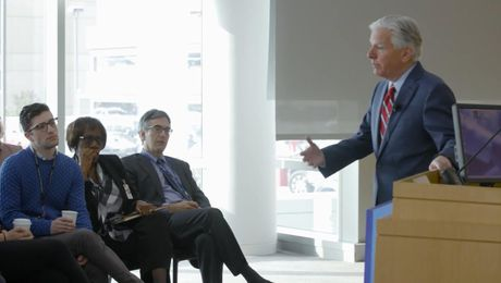 On Campus: President Meehan shares his vision for the UMass system