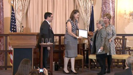U.S. Department of State Hosts AAFSW Volunteerism Awards Ceremony