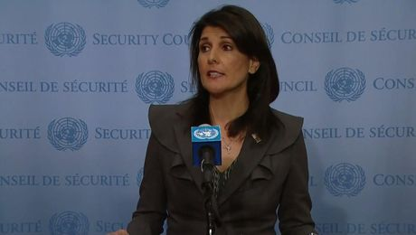 Ambassador Haley Speaks with Press about Priorities for the New Year