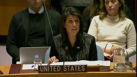 Remarks at an Emergency UN Security Council Briefing on Iran