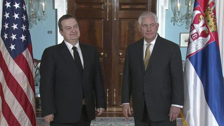 Secretary Tillerson Meets with Serbian First Deputy Prime Minister