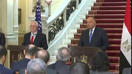 Secretary Tillerson Holds Joint Press Availability with Egyptian Foreign Minister Shoukry in Cairo