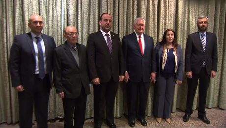 Secretary Tillerson Meets with Syrian Negotiations Committee