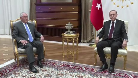 Secretary Tillerson Meets with Turkish President Erdogan in Ankara