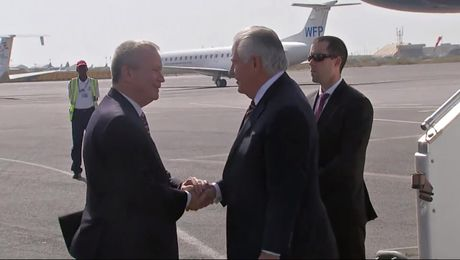 Secretary Tillerson Arrives in Djibouti