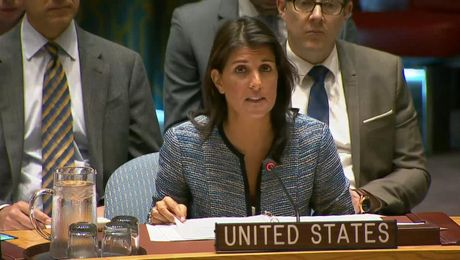 Ambassador Haley Delivers Remarks at a UN Security Council Meeting on Women, Peace, and Security in the Sahel