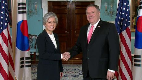 Secretary Pompeo Meets with Republic Of Korea FM Kang Kyung-wha