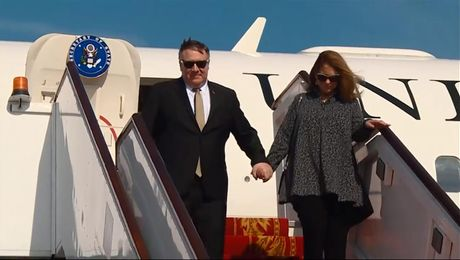 Secretary  Pompeo arrives in Bahrain