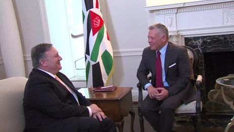 Secretary Pompeo Meets with Jordanian King Abdullah II