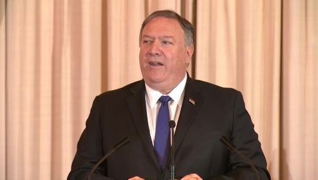 Secretary Pompeo Remarks at the World Food Prize Laureate Announcement Ceremony