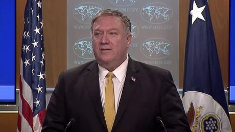 Secretary Pompeo  remarks to the media.