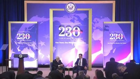 Former Sec Kissinger's remarks at the 230th Anniversary of State Department