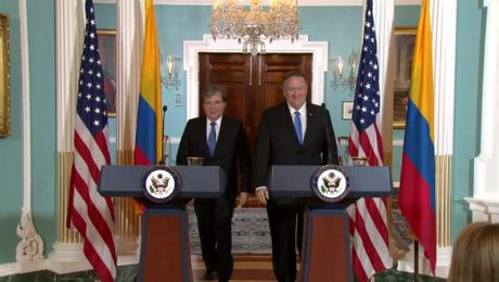 Secretary Pompeo and Foreign Minister Trujillo remarks to the press.
