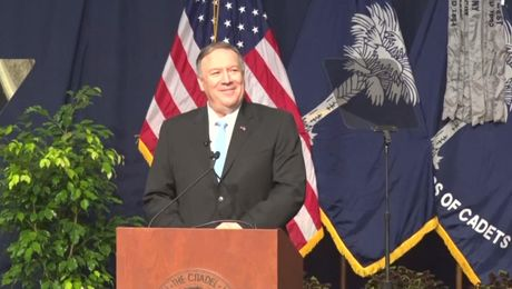 "Secretary Pompeo speech on ""Lessons From a Lifetime of Service."""