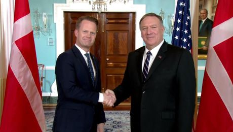 Secretary Pompeo  meets with Danish Foreign Minister Jeppe Kofod