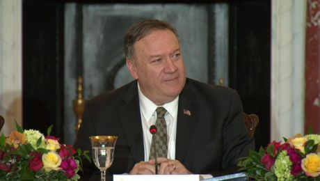 Secretary Pompeo remarks to the International Religious Freedom Alliance