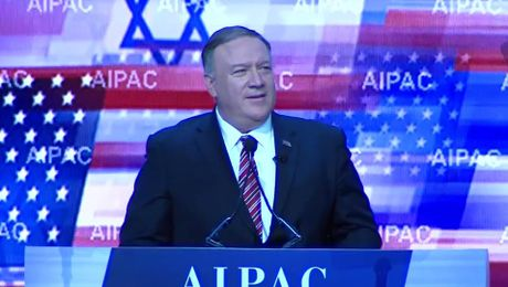 Secretary Pompeo remarks at the American Israel Public Affairs Committee Policy Conference
