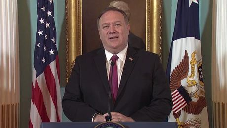 Secretary Pompeo remarks on the release of the Trafficking in Persons Report