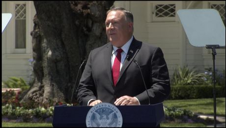 Secretary Pompeo Delivers a Speech at the Richard Nixon Presidential Library