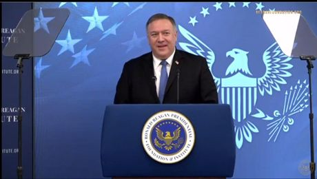 Secretary Pompeo remarks at the Virtual Launch of the Ronald Reagan Institute's Center for Freedom and Democracy
