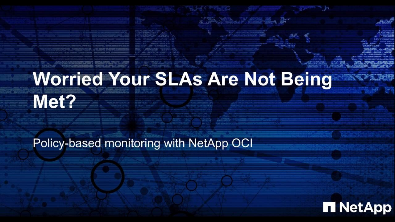 Worried Your SLAs Are Not Being Met?