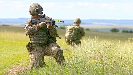 The British Army's High-Tech Soldier