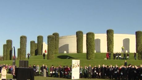 Royal British Legion Officially Opens Field Of Remembrance At The National Memorial Arboretum