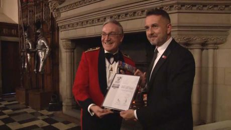 Rangers Recognised For Its Commitment To Supporting The Armed Forces