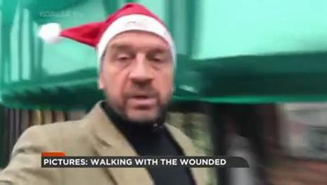 "The Amazing Veteran Who's ""Walking Home For Christmas"""