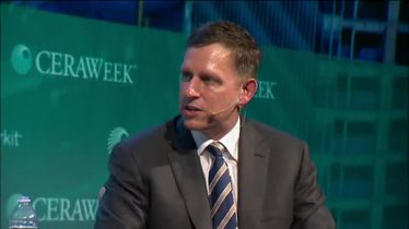 Keynote with Peter Thiel