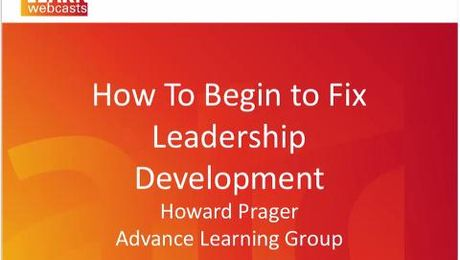 TD: How to Fix Leadership Development