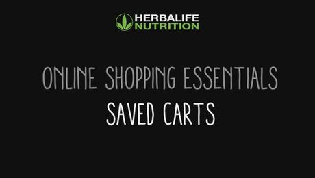 Online Shopping Essentials - Saved Carts