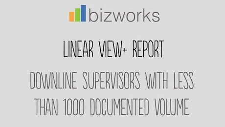 Linear View PLUS: Less than 1000 Documented Volume