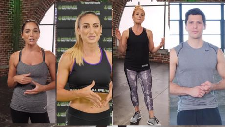 Fitness Portal Promo with Samantha Clayton