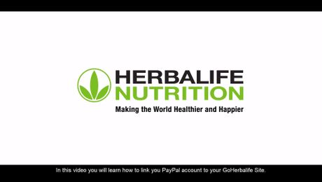 How to link my PayPal account to my GoHerbalife?