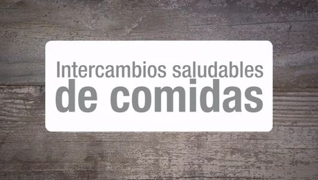 Intercambios saludables